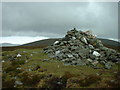 SC3181 : Cairn at top of Greeba Mountain by Adie Jackson