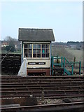 TL8928 : Chappel South Signal Box by Oxyman