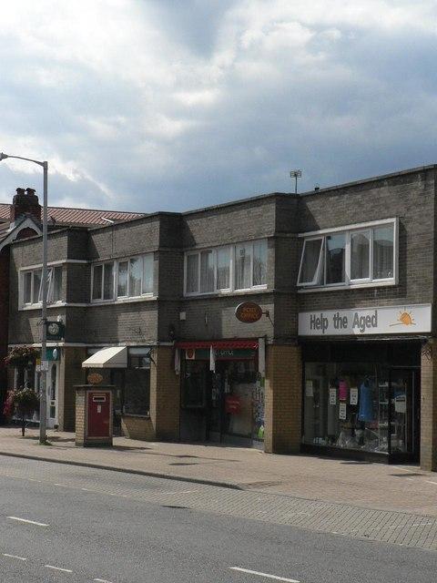 Highcliffe: post office