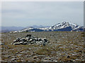 NH3079 : The summit of Am Faochagach by Nigel Brown