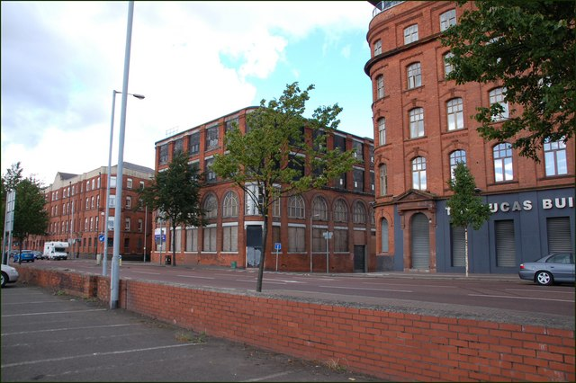 Former Armagh House, Belfast (July 2007)