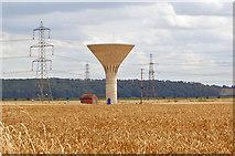 SE8317 : Garthorpe Water Tower by David Wright