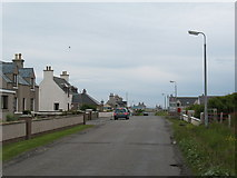 NB5263 : A857 at Lional by Gordon Hatton