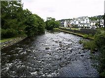 NY2623 : The River Greta in Keswick by Andy Beecroft
