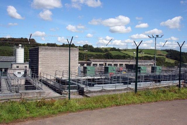 Restormel Sewage Treatment Plant