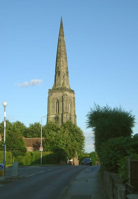 gedling church steeple  u00a9 alan murray 2 0