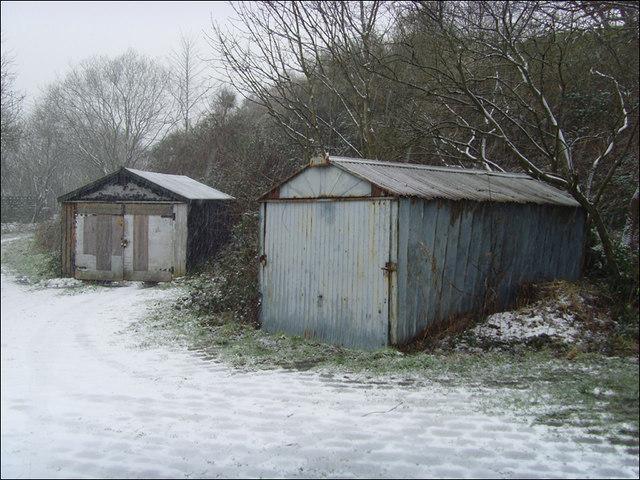 Old garages:Winter