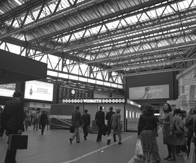 Passenger Concourse, Waterloo Station