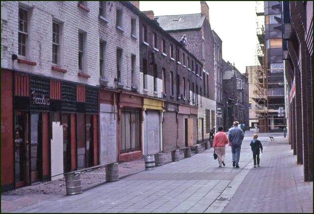 Wellington Street, Belfast (1987)