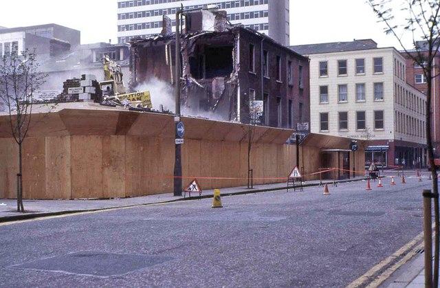 Wellington St/Upper Queen St, Belfast