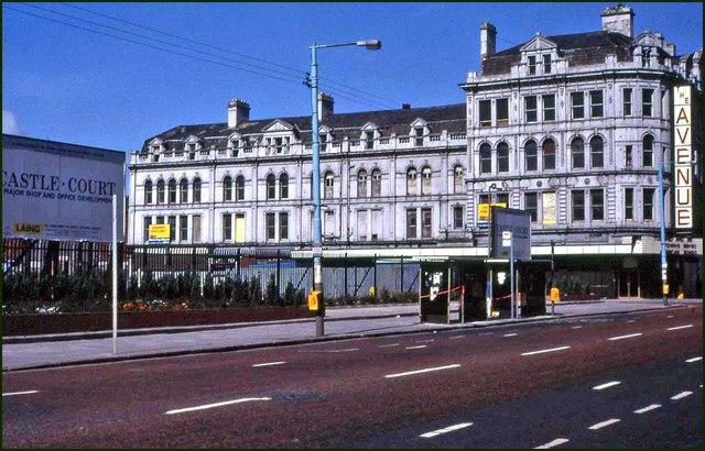 Development site, Royal Avenue, Belfast
