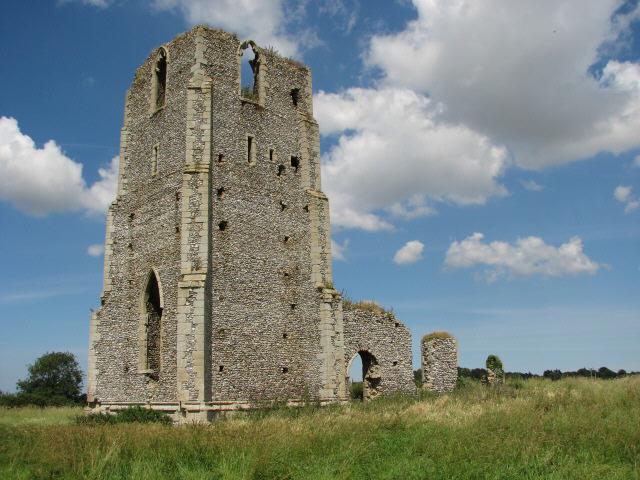 Ruin of  St Edmund's church