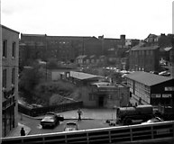 SD8913 : View south from Smith Street, Rochdale, Lancashire by Dr Neil Clifton