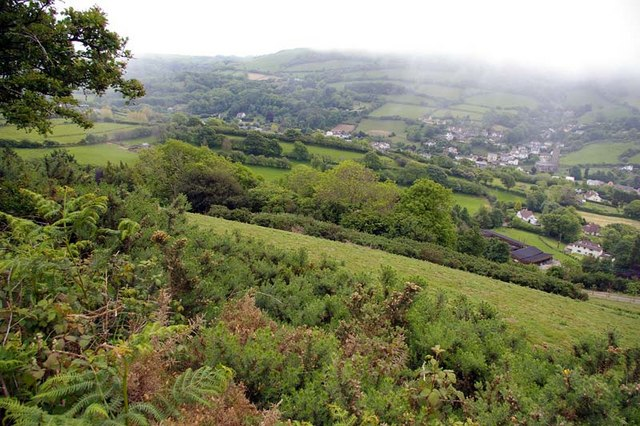 Combe Martin Valley