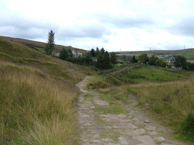 Pennine Bridleway, North Hollingworth