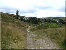 SD9321 : Pennine Bridleway, North Hollingworth by michael ely