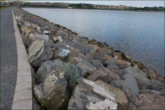 Sea defences, Newtownards (3)