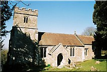 ST7807 : Ibberton: parish church of St. Eustace by Chris Downer
