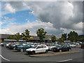 SO6024 : Supermarket car park by Pauline E