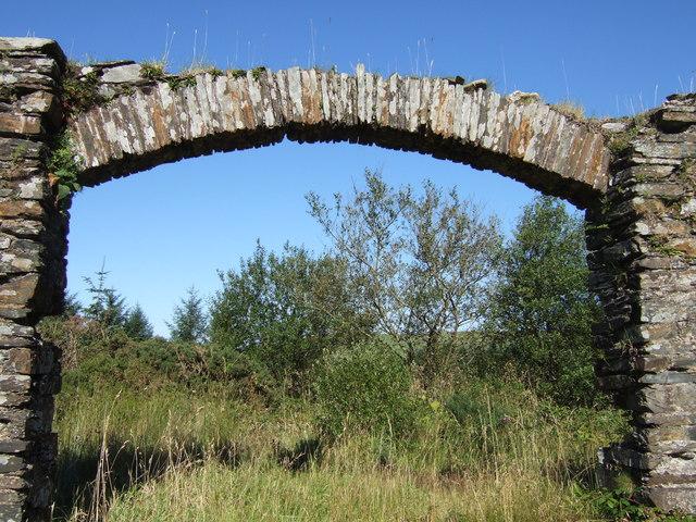 Old archway, Rosebush