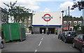 TQ3186 : Arsenal tube station by Nigel Cox