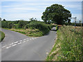 TG1337 : Y-junction heading south to Matlaske (left) or Baconsthorpe (right) by Zorba the Geek