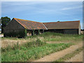 TG0936 : Another side of an old farm building by Zorba the Geek