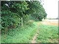 TL1145 : Greensand Ridge Walk footpath by ian saunders