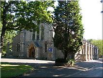 TQ7668 : The Garrison Church of Saint Barbara, Maxwell Road, Brompton (2) by Danny P Robinson