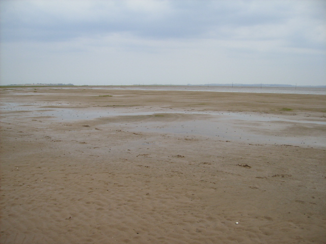 Holy Island Sands in grid square NU0942