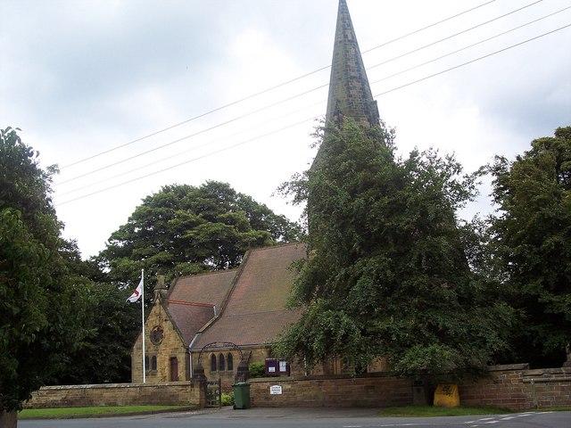 Holy Cross Church, Swainby