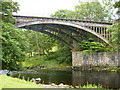 SD6490 : Former railway bridge over the River Rawthey near Sedbergh by Phil Catterall