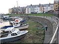 SN5881 : Aberystwyth Small Boat Mooring Basin by Ben Croft
