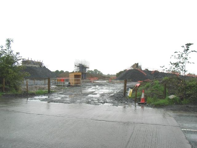 Trim Road M3 Bridge Construction