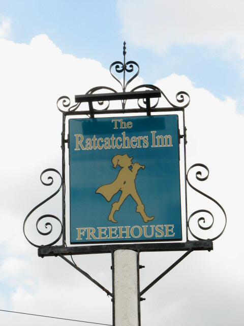 Pub Sign, The Ratcatchers Inn