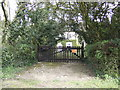 TF7902 : Cottage gate by Jonathan Billinger