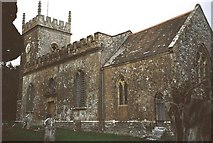 ST5707 : Melbury Osmond: parish church of St. Osmund by Chris Downer