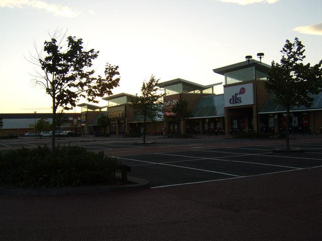 Abbotsinch Retail Park, Paisley