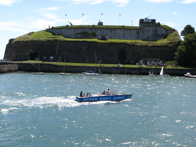 Nothe Fort from Commercial Pier