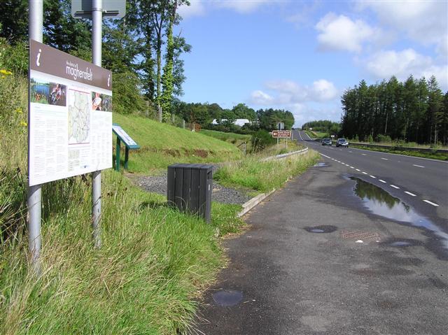 A29 Desertmartin Road near Cranny