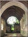TG3610 : The ruin of St Peter's church, North Burlingham by Evelyn Simak