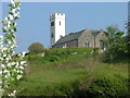 SS0697 : Manorbier Church by Mike Graham