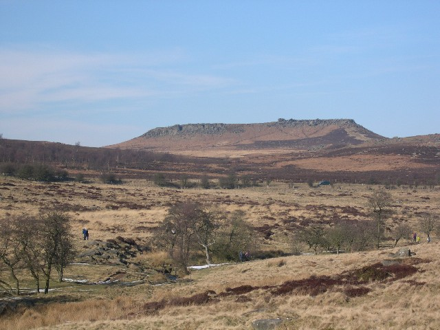 Higger Tor  & Hathersage Moor from the south