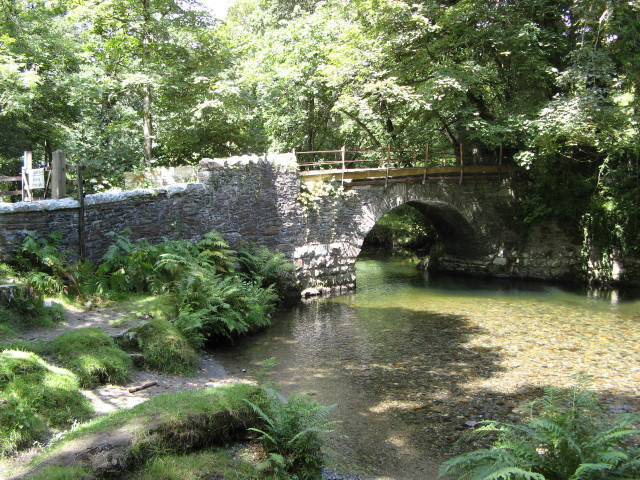Grenofen Bridge over the River Walkham