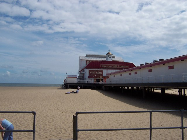 The Pier At Great Yarmouth