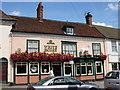 TL8741 : White Horse Pub, Sudbury by Oxyman