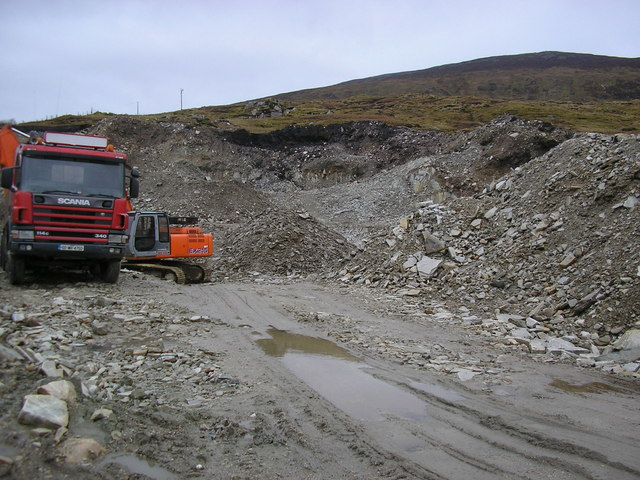 Quarry near Crockuna Mountain