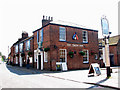 TG3725 : The Swan Inn, Stalham by Evelyn Simak