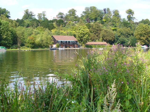 Thames at Danesfield