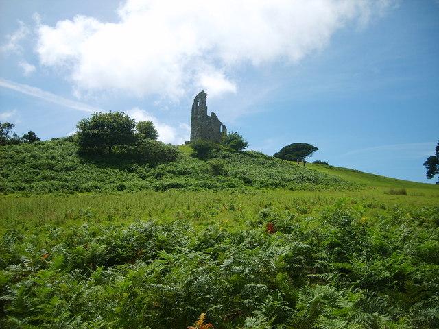 The 'Folly' at Mount Edgecumbe